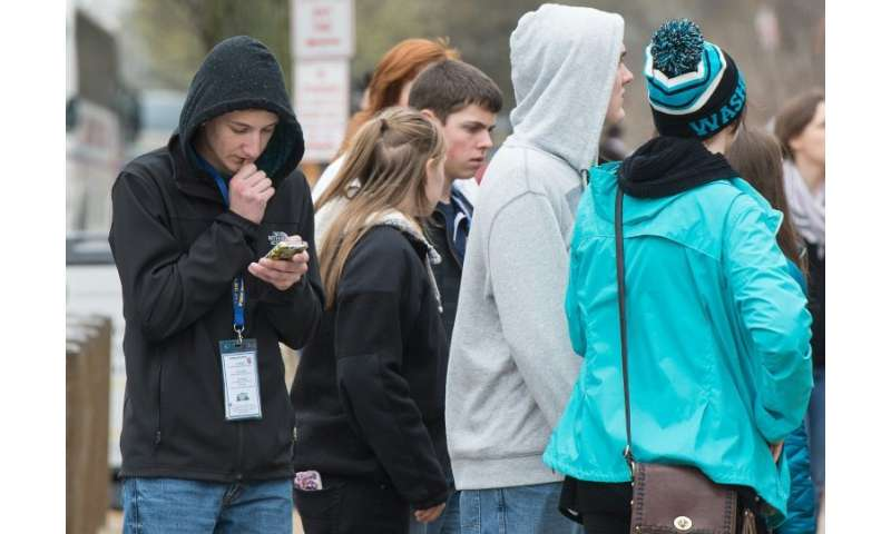 With many teens constantly on their smartphones, online harassment and bullying is seen as a major problem, according to a recen