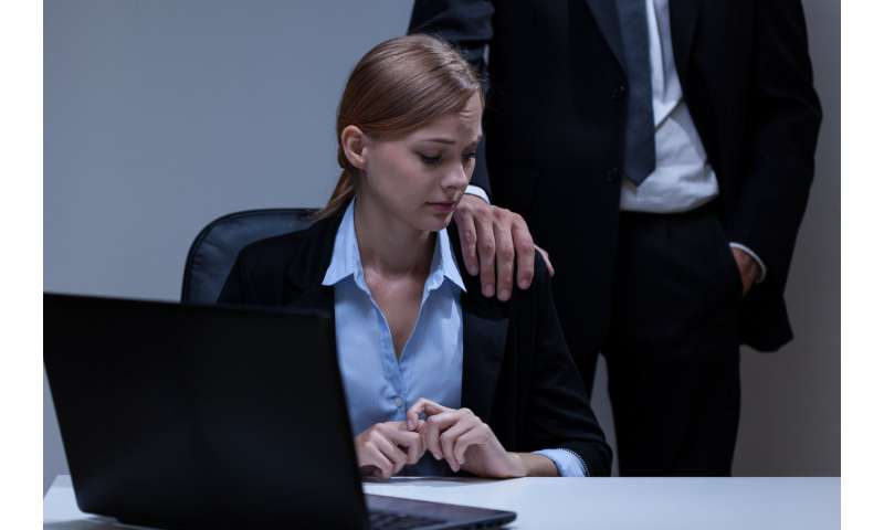 Women don't speak up over workplace harassment because no one hears them if they do