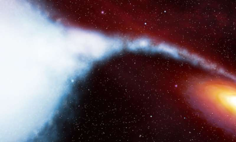 X-ray technology reveals never-before-seen matter around black hole
