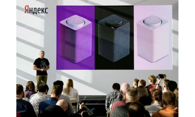 """Yandex instead announced a new smart speaker that uses the voice of """"Alisa""""—a virtual assistant similar to Amazon's Al"""