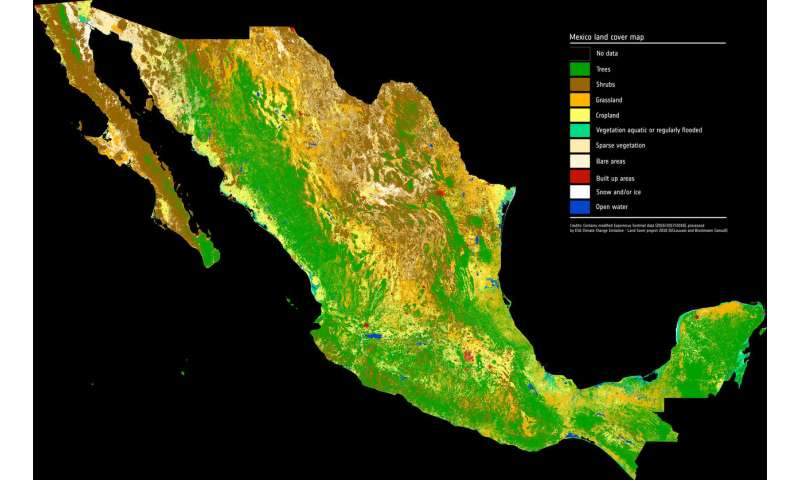 Zooming in on Mexico's landscape