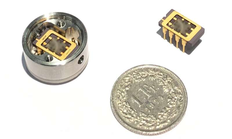 A chip to measure vacuums
