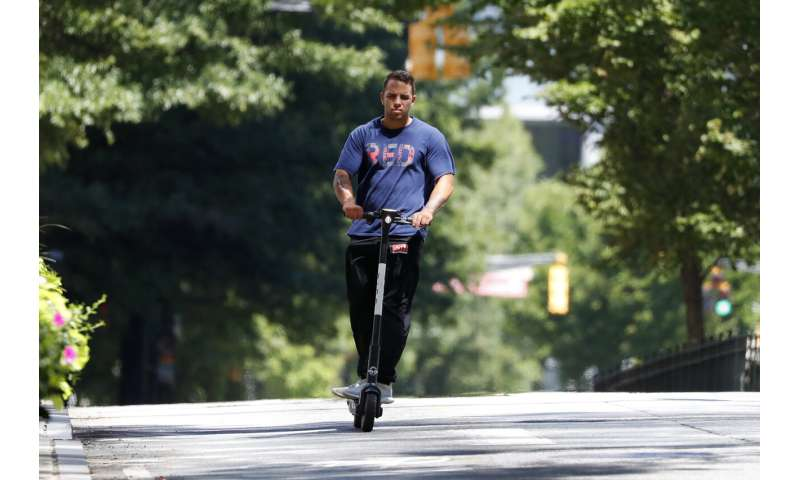 After deadly wrecks, Atlanta bans electric scooters at night