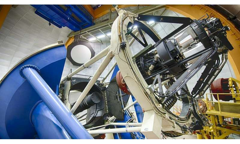After mapping millions of galaxies, dark energy survey finishes data collection