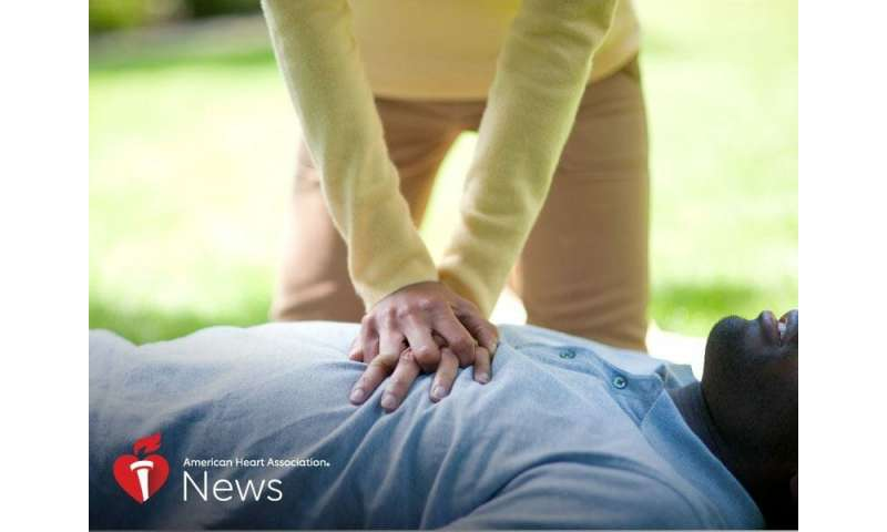 AHA news: heart-stopping drama of on-screen CPR doesn't always reflect reality