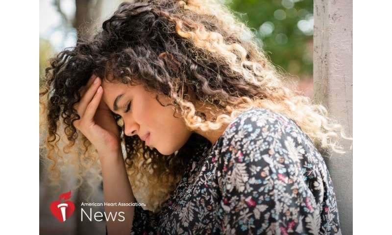 AHA news: younger stroke survivors more at risk for anxiety