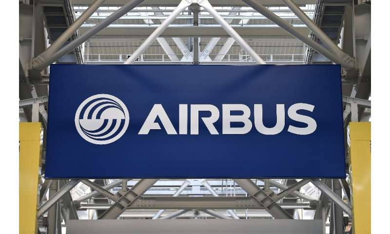 Airbus delivered 389 commercial aircraft during the first half of the year, up from 303 in the same period in 2018