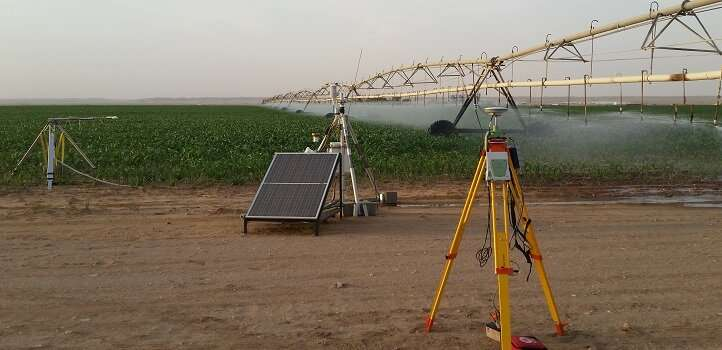 A leap forward in estimating crop water use