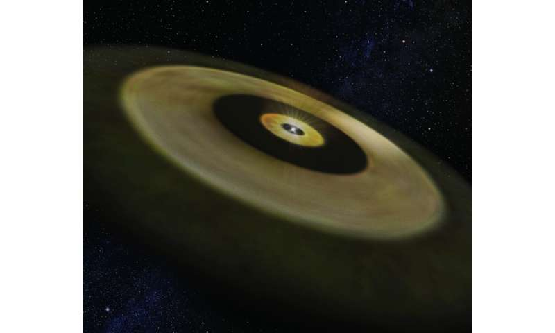 ALMA observes the formation sites of solar-system-like planets