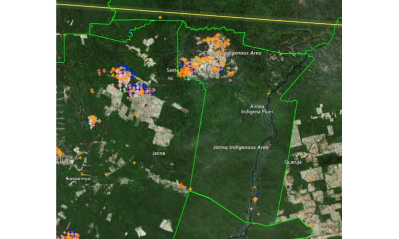 **Amazon fires: local Indigenous people show fire can be used sustainably