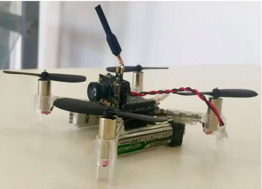 An interactive drone to assist humans in office environments
