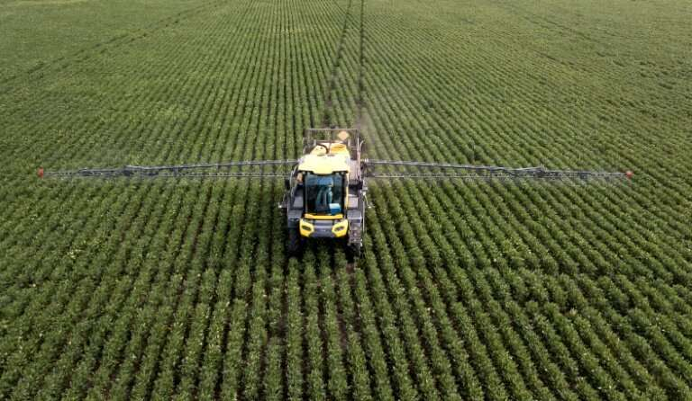 Argentina's soybean industry uses huge quantitities of glyphosate
