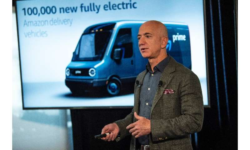 As part of its climate intiative, Amazon will purchase 100,000 electric vehicles for its deliveries, the first of which will beg