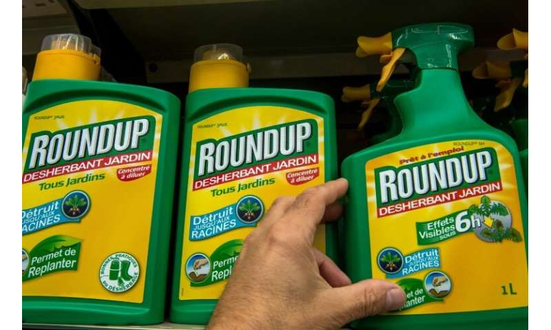 Bayer's Roundup weed-killer contains glyphosate, which the French government plans to outlaw by 2021
