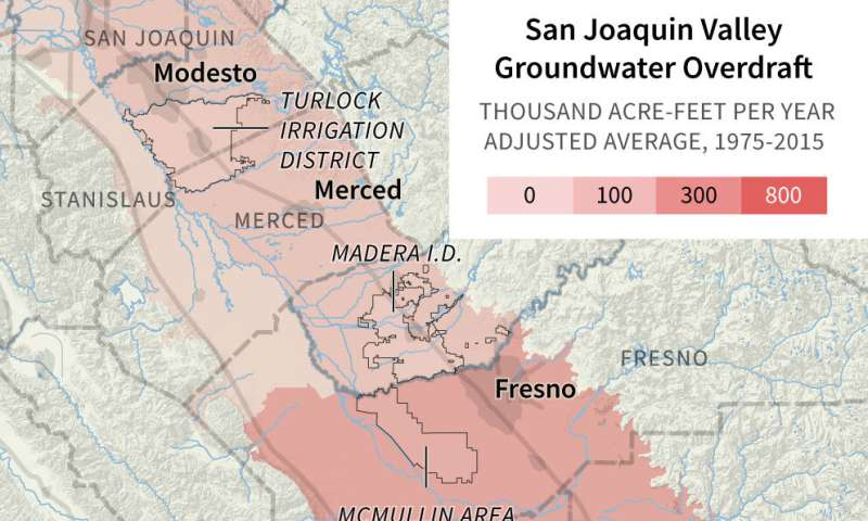 Can California better use winter storms to refill its aquifers?
