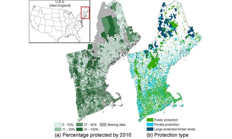 Can protecting land promote employment? In New England, the answer is yes