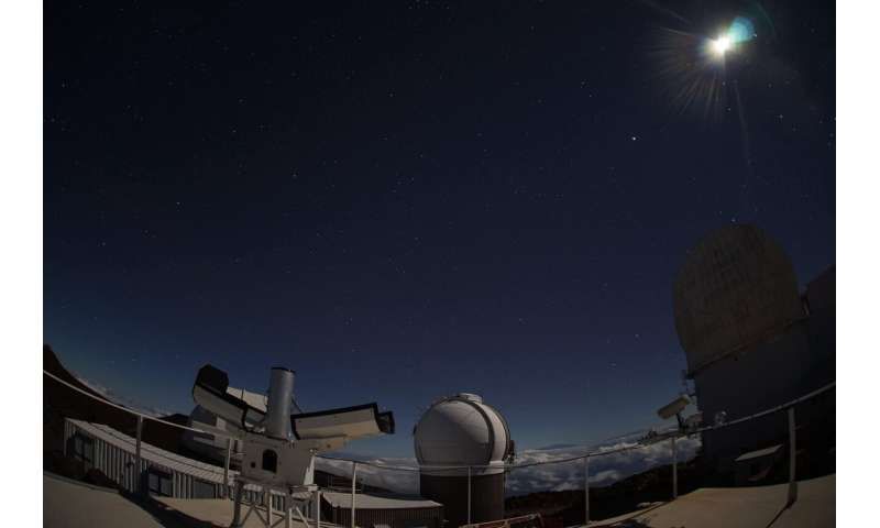 Capturing shooting stars over Hawaiʻi