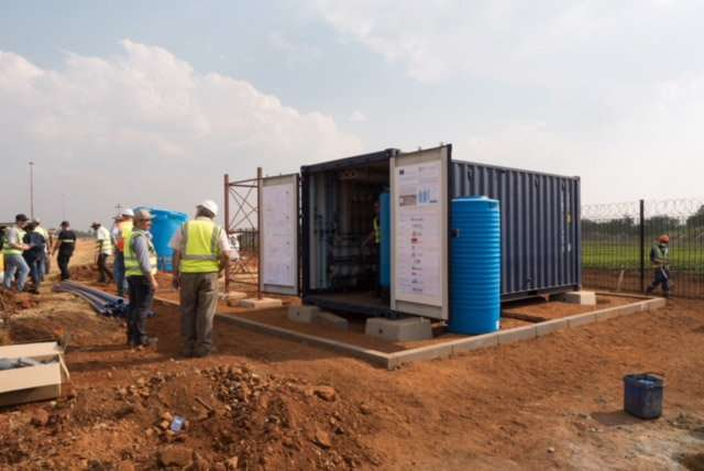 Clean water for Southern Africa
