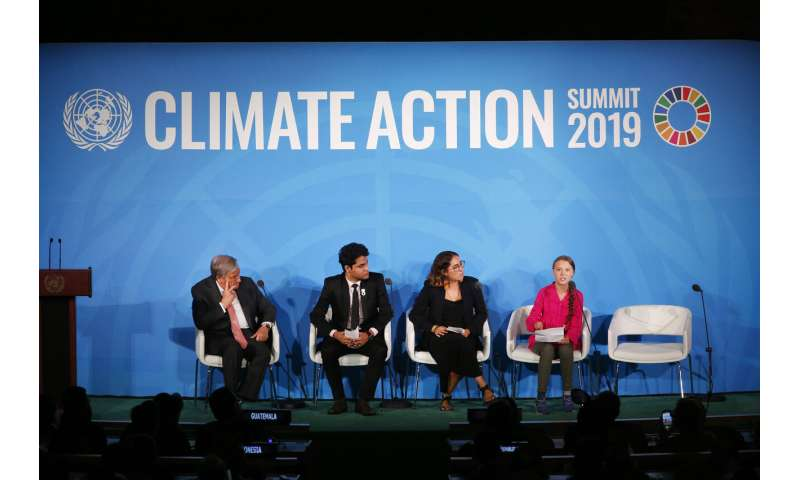 Climate experts say they hear talk at UN but not much action