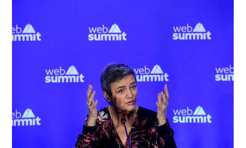 Competition Commissioner Margrethe Vestager says development in digital tax has been 'fast'
