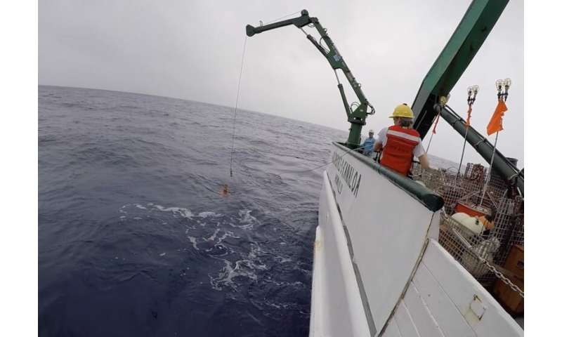 Deep diving robots find warming accelerating in South Pacific Ocean waters