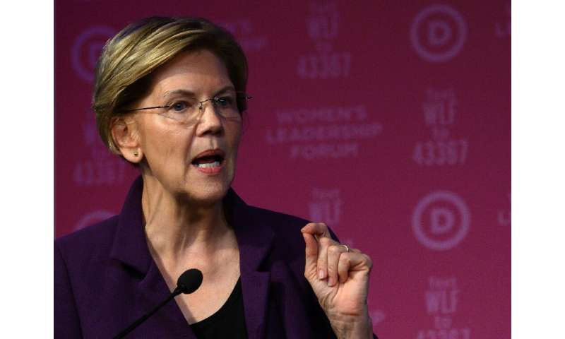 Democratic presidential hopeful Senator Elizabeth Warren said Facebook's policy of leaving political misinformation unchecked is