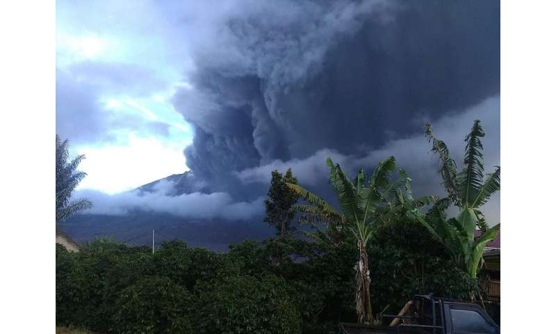 """Disaster agency officials said the eruption has the """"potential"""" to affect flights, but it had not issued a formal noti"""