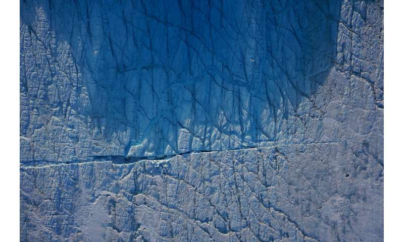 Drone images show Greenland ice sheet becoming more unstable as it fractures