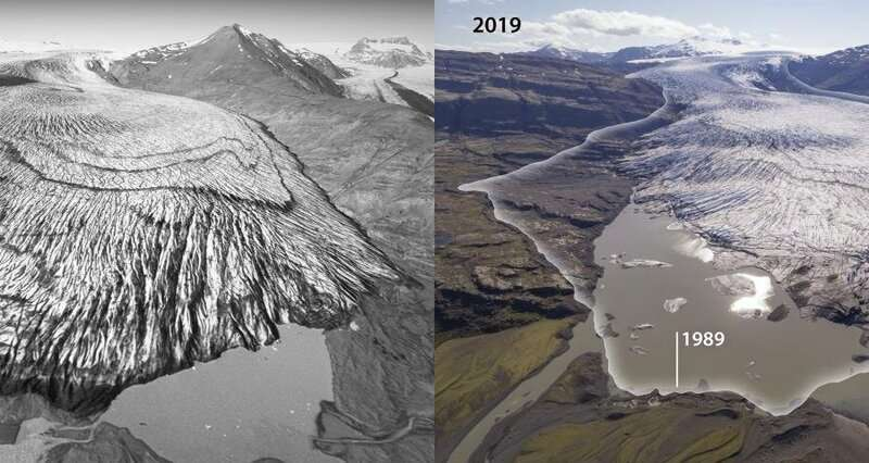 Drones help map Iceland's disappearing glaciers