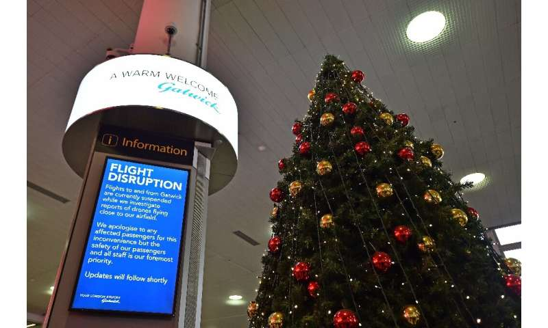 Drone sightings caused major disruptions at London's Gatwick Airport just before the Christmas holiday last year