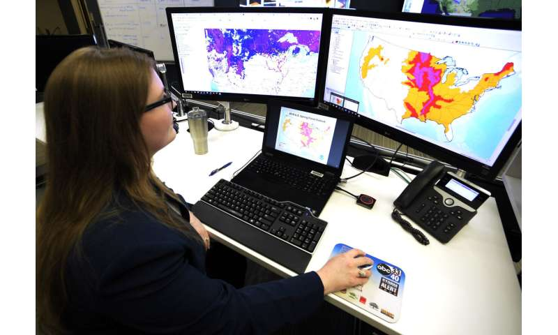 Drones, supercomputers and sonar deployed against floods