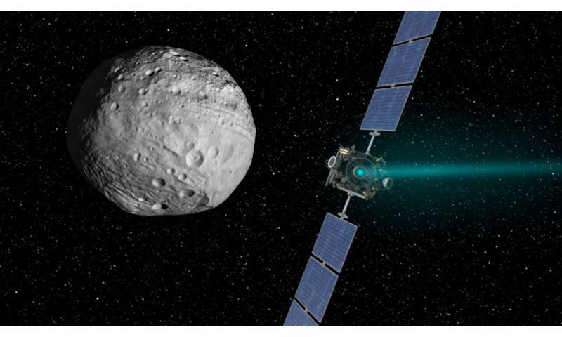 ESA's Hera asteroid mission borrows eyes of NASA's Dawn
