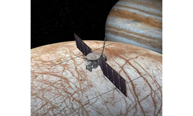 Europa: there may be life on Jupiter's moon and two new