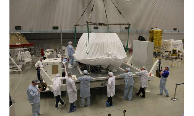 ExoMars landing platform arrives in Europe with a name