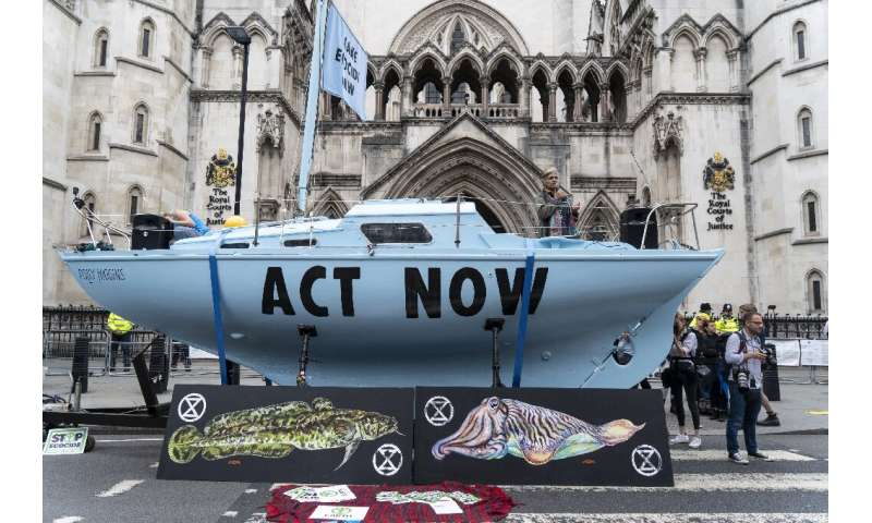 Extinction Rebellion was established last year in Britain by academics and has become one of the world's fastest-growing environ
