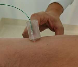 Finger-mounted optical probe designed to improve breast cancer removal