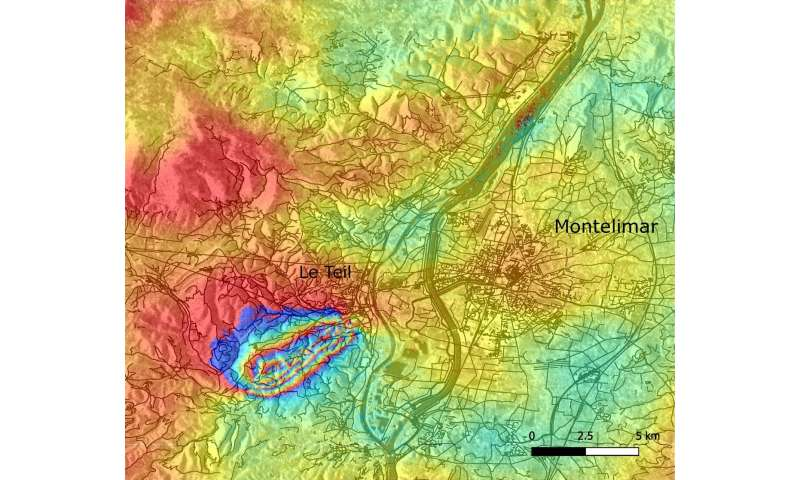 French earthquake fault mapped