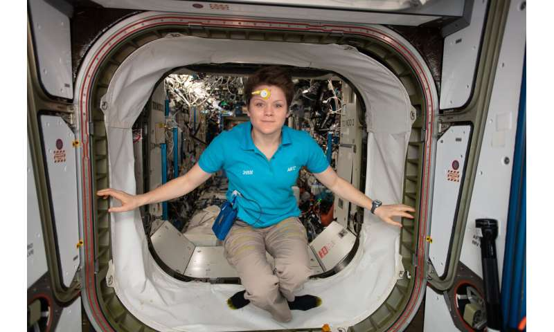 Getting ready for Mars on the Space Station