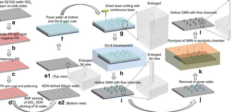 **Glassy Carbon Microneedles – A New Transdermal Drug Delivery Device