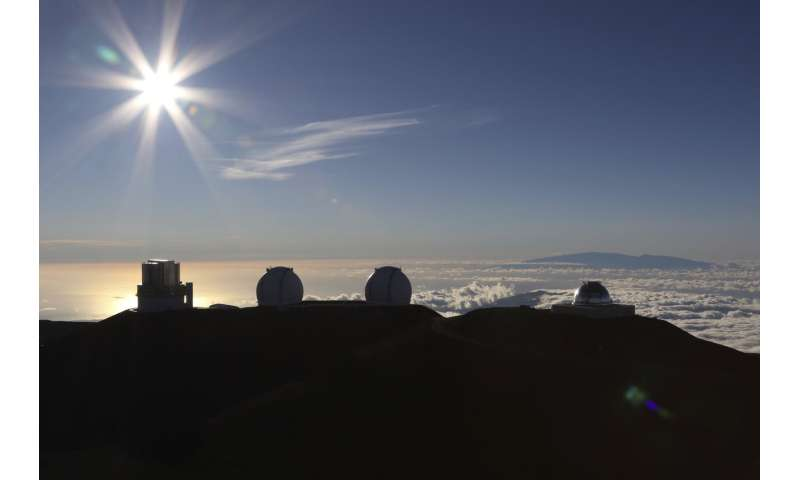 Hawaii activists protesting over start of work on telescope