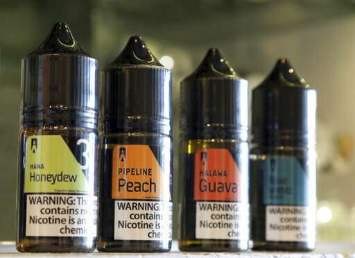 Hawaii weighs nation's first statewide ban on e-cig flavors