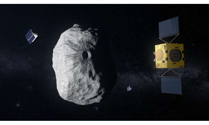 Hera's CubeSat to perform first radar probe of an asteroid