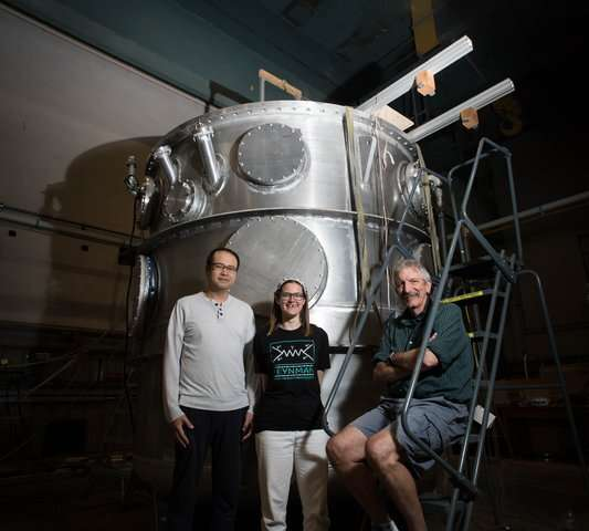 How a giant 'thermos bottle' will help in understanding antimatter