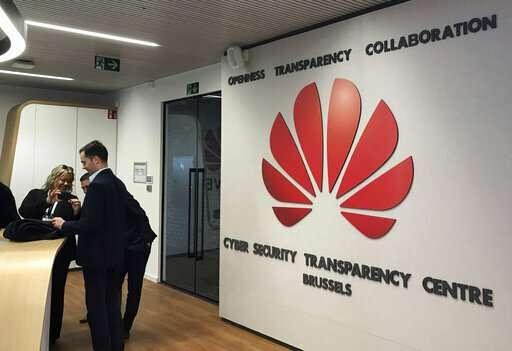 Huawei opens Brussels security lab in bid to reassure EU
