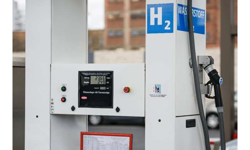 Hydrogen fuel stations are still are rare sight across Germany