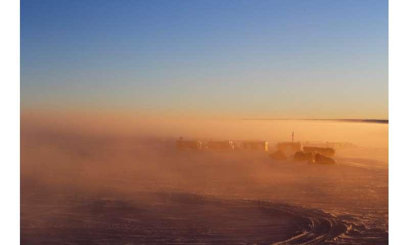 Image: Antarctic mist