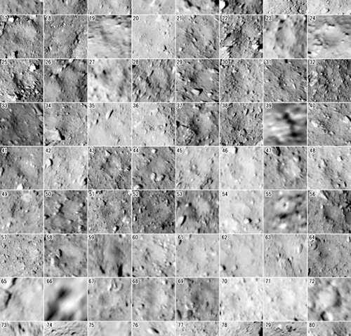 Impact crater data analysis of Ryugu asteroid illuminates complicated geological history