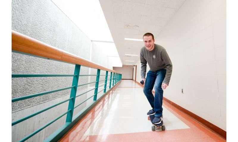 Industrial 3D printing goes skateboarding