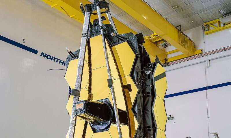 James Webb Space Telescope assembled for the first time