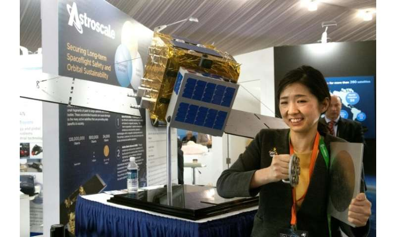 Japanese entrepreneur Nobu Okada founded Astroscale in 2013 with the sole aim of launching 'space sweepers'